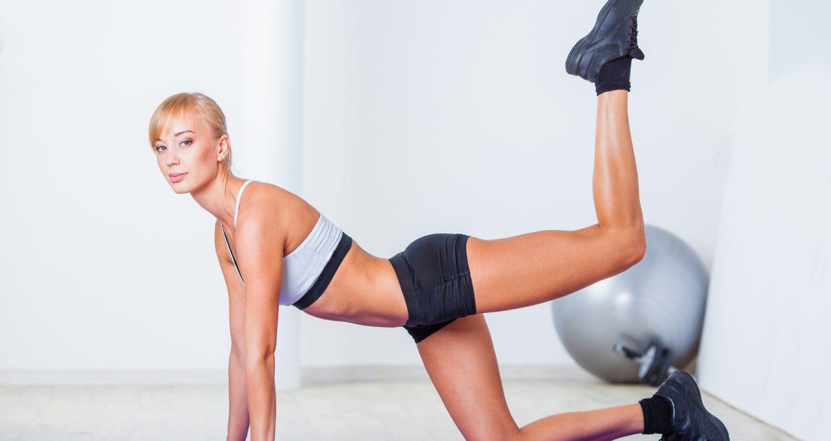Упражнения для увеличения попы